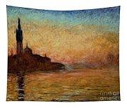 View Of San Giorgio Maggiore Tapestry