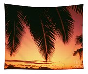View Of Tahiti Tapestry