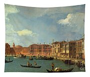View Of The Canal Of Santa Chiara Tapestry