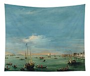 View Of The Giudecca Canal And The Zatter Tapestry