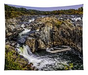 View Of The Great Falls Tapestry