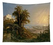 View Of The Harbor Of Puerto Cabello, Study Tapestry