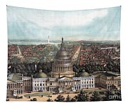 View Of Washington Dc Tapestry