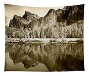 View Of Yosemite Tapestry
