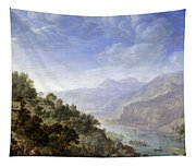 View On The Rhine Tapestry