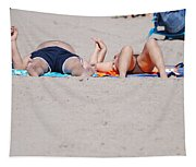 Views At The Beach Tapestry