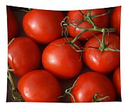 Vine Ripe Tomatoes Fine Art Food Photography Tapestry