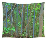 Vines Abstract IIi Tapestry