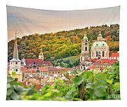 Vineyard Of Prague Tapestry