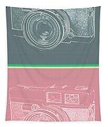 Vintage 35mm Film Camera Pop Art Totem Tapestry