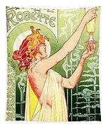 Vintage Absinthe Robette Poster Tapestry