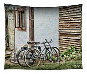 Vintage Bicycles The Journey Tapestry