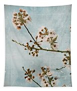 Vintage Blossoms Tapestry