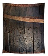 Vintage Bordeaux Wine Barrel Without Its X Tapestry
