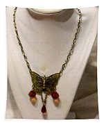Vintage Butterfly Dreams Necklace Tapestry