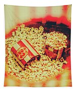 Vintage Carnival Snack Booth Tapestry