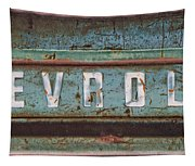 Vintage Chevrolet Tailgate Tapestry