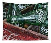 Vintage Coke Square Format Tapestry