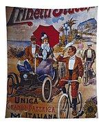 Vintage Cycle Poster Prinetti Stucchi Unica Grande Fabbrica Italiana Milano Tapestry