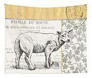 Vintage Farm 3 Tapestry