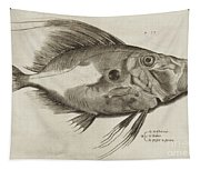 Vintage Fish Print Tapestry