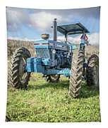 Vintage Ford 7610 Farm Tractor Tapestry