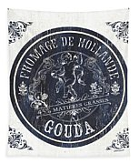 Vintage French Cheese Label 1 Tapestry