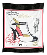 Vintage French Shoes 1 Tapestry