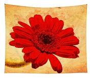 Vintage Gerbera Daisy Tapestry