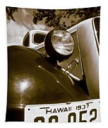 1937 Ford Pickup Truck Maui Hawaii Tapestry