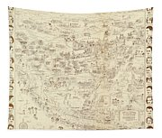 Vintage Hollywood Starland Tapestry