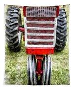Vintage International Harvester Tractor Tapestry