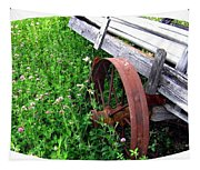 Vintage Irrigation Wagon Tapestry