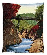Vintage Japanese Art 18 Tapestry