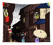 Vintage Japanese Art 26 Tapestry