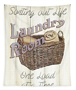 Vintage Laundry Room 2 Tapestry
