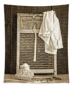 Vintage Laundry Room Tapestry