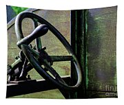 Vintage Machinery 5 Tapestry