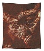 Vintage Masquerade Tapestry