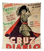 Vintage Movie Poster 7 Tapestry