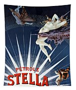 Vintage Petrole Stella Poster Tapestry