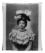 Vintage Photo Of Young Pretty Colored Lady Tapestry