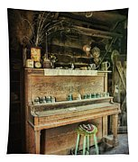 Vintage Piano  Tapestry