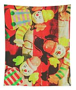 Vintage Pull String Puppets Tapestry