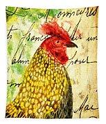 Vintage Rooster Portrait    Tapestry