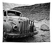 Vintage Truck Tapestry