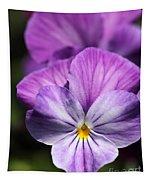 Viola Named Columbine Tapestry