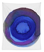 Violet Drops 1- Art By Linda Woods Tapestry
