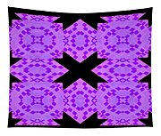 Violet Haze Abstract Tapestry