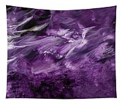 Violet Rhapsody- Art By Linda Woods Tapestry